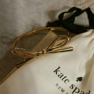 Authentic Kate Spade Gold Bow Bracelet